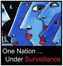 One Nation Under Surveillance by Beans Barton