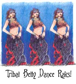Tribal Belly Dance Raks! by Beans Barton