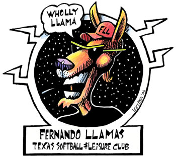 Wholly Llama by Beans Barton